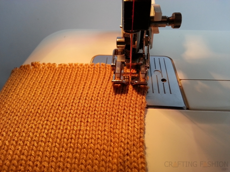 Sewing Machine For Knit Fabric