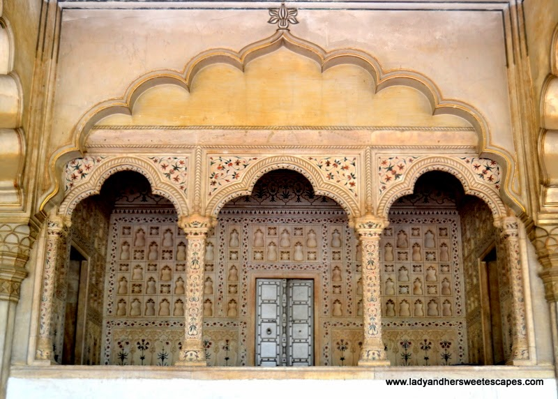 Agra Fort marble inlay