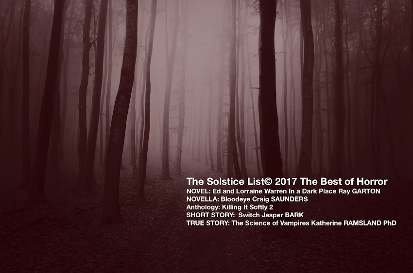 Solstice List: Best Horror Books Not to be Missed 2017