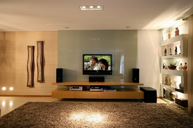 Home Tv Sala Pequena ~ iluminação em ambientes com TV deve ser indireta Se possível