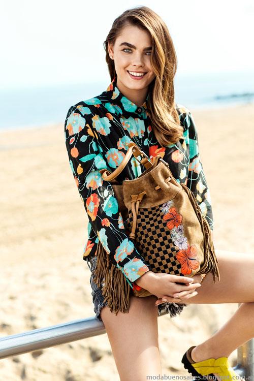 Uma moda primavera verano 2014 camisas