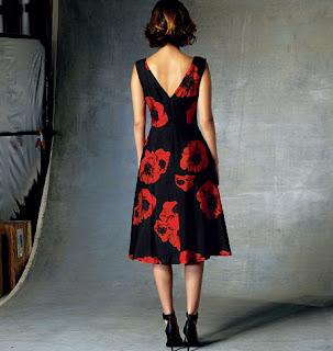 Vogue 1422 v-back