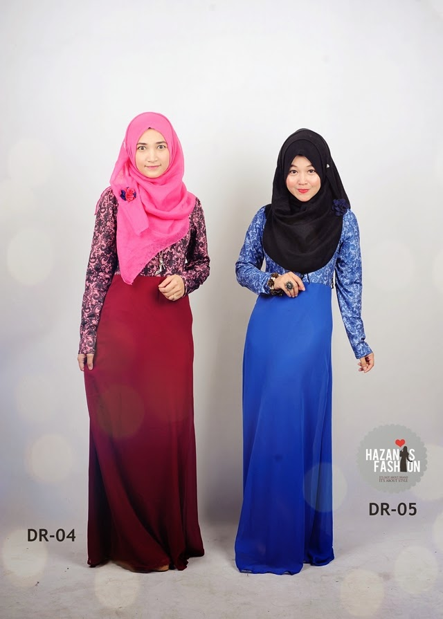 Baju Raya dan Fesyen Muslimah terkini 2014