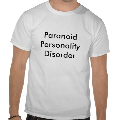 paranoid personality disorder research paper A personality disorder, as defined in the diagnostic and statistical manual of the american psychiatric association, fourth edition, text revision most current research suggests that personality disorders may be differentiated by their interactions among the 5 dimensions rather than differences on any.