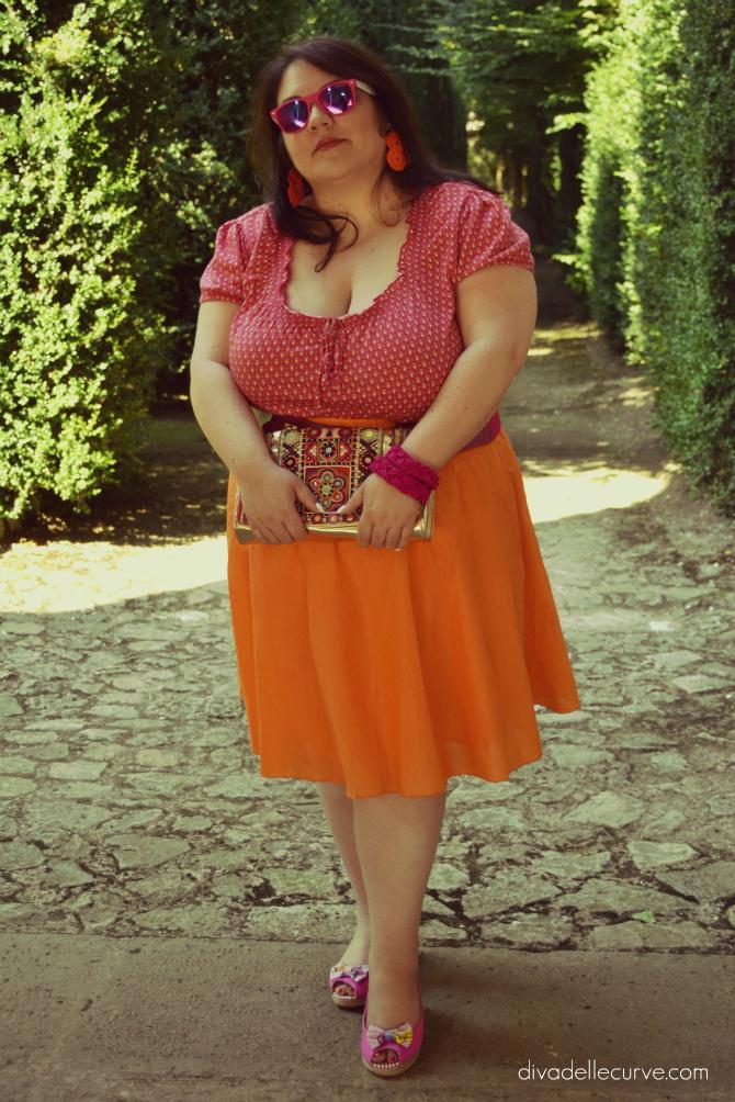 outfit vitaminico di ferragosto alla villa di valsanzibio