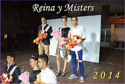 REINA Y MISTERS FIESTAS 2014