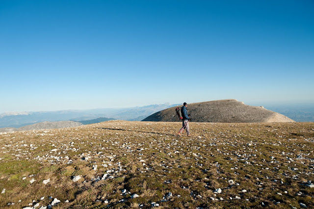 Monte Pesco Falcone viso dal Monte Amaro