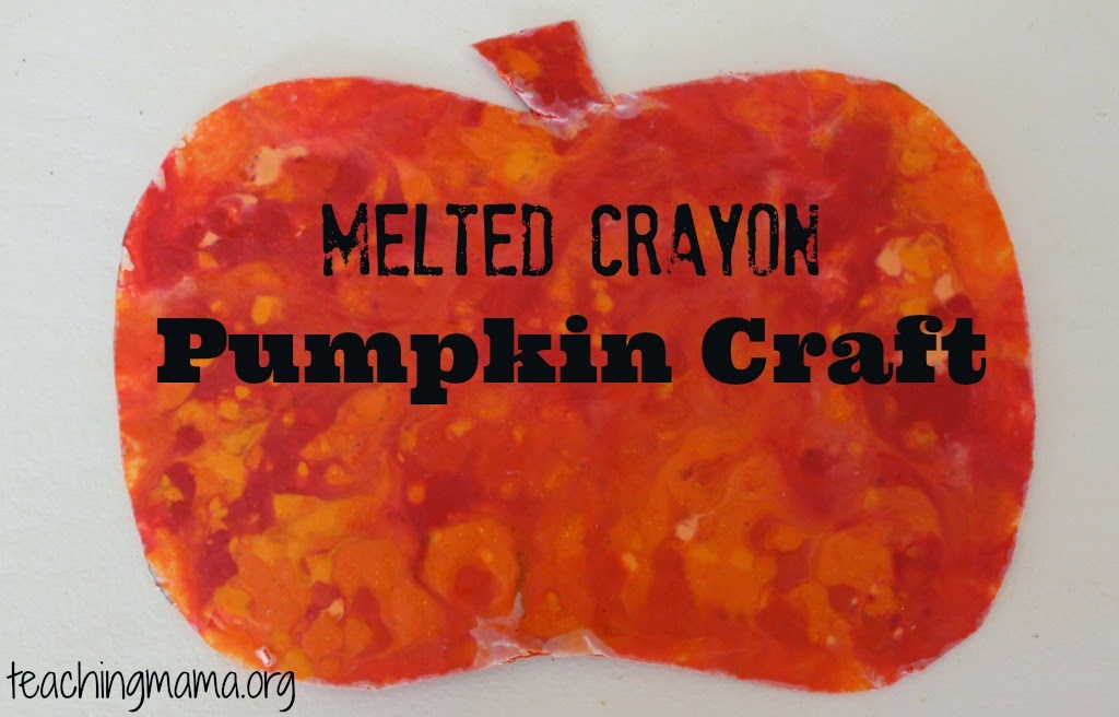 http://teachingmama.org/melted-crayon-pumpkin/