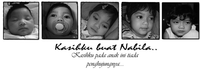 Kasihku buat Nabila