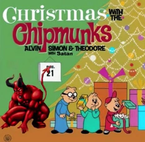 Satan Inside: Slowed Down Chipmunks Reveal The Devil Within