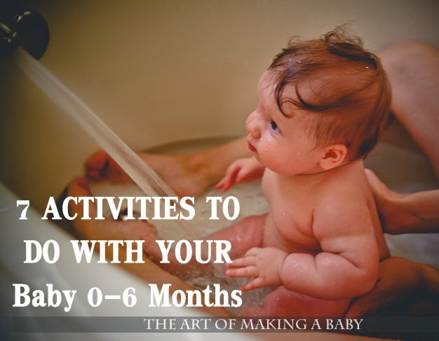 7 Activities to Do With Your Baby 0-6 Months
