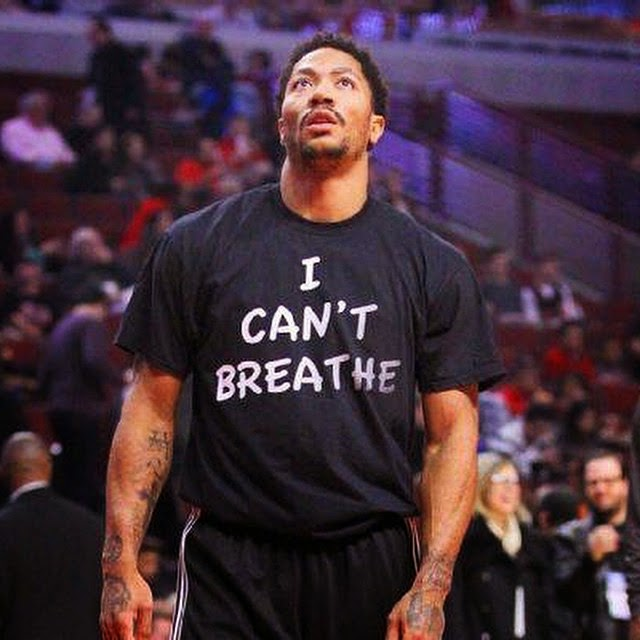 eric garner i cant breathe t shirts nba derrick rose