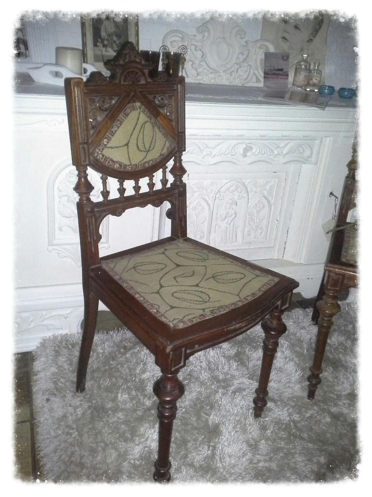 shabby chic brocante franz sischer stuhl. Black Bedroom Furniture Sets. Home Design Ideas