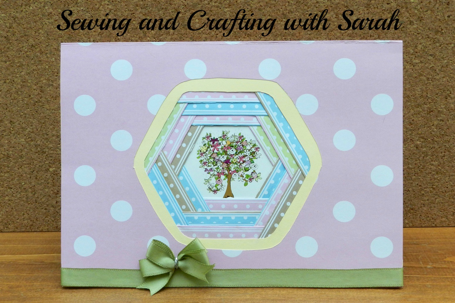 Sewing And Crafting With Sarah Iris Folding Technique For