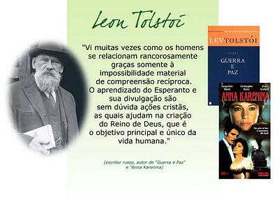 Tolstoi e o Esperanto