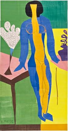 Henri Matisse - Zulma,1950.