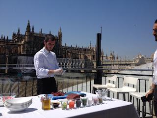 Chef Fran Trigo. Inauguración Terraza Hotel EME. El Tapeador.