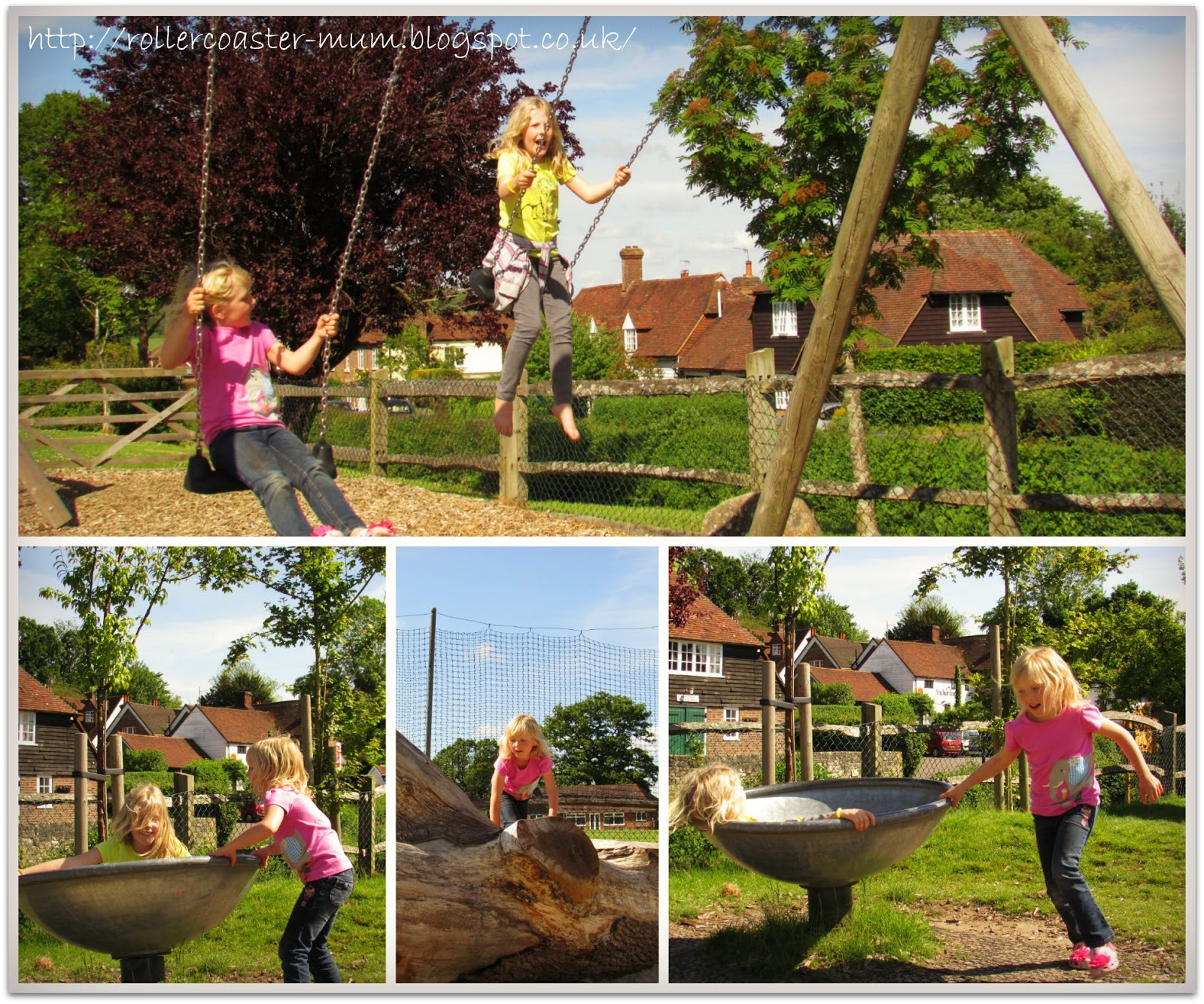 playground in Hartfield, Ashdown Forest