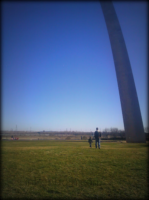 At the Arch