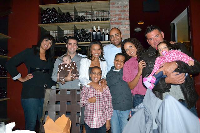 Purple Cafe Seattle family shot