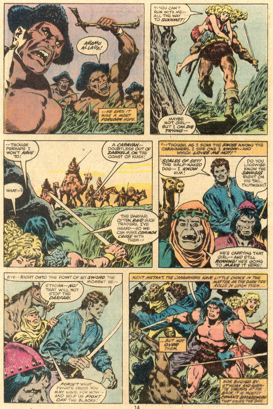 Conan the Barbarian (1970) Issue #108 #120 - English 9