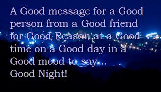 ucapan good naight selamt tidur 1