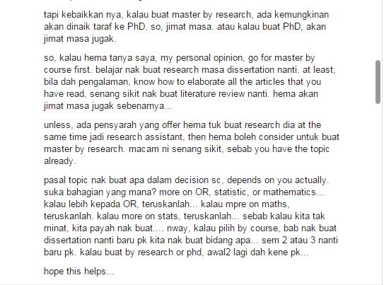 master coursework dan research