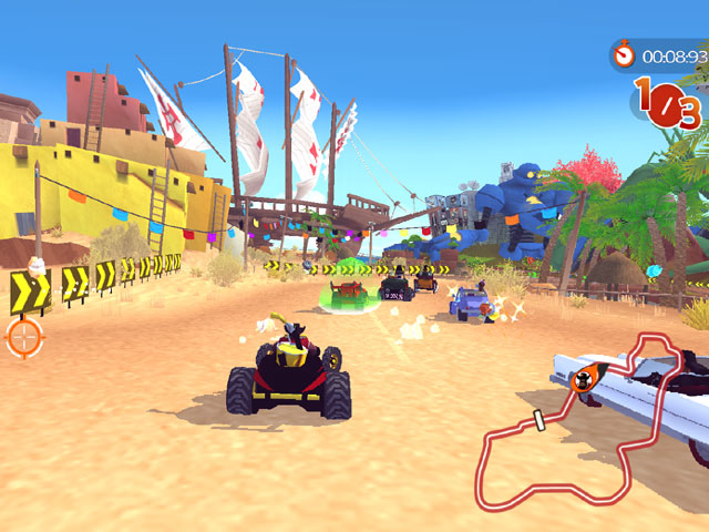 Racers Islands PC Games Full Version Screenshot - http://jembersantri.blogspot.com