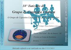 18°  DO GRUPO DE CAPOEIRA CARIOCA