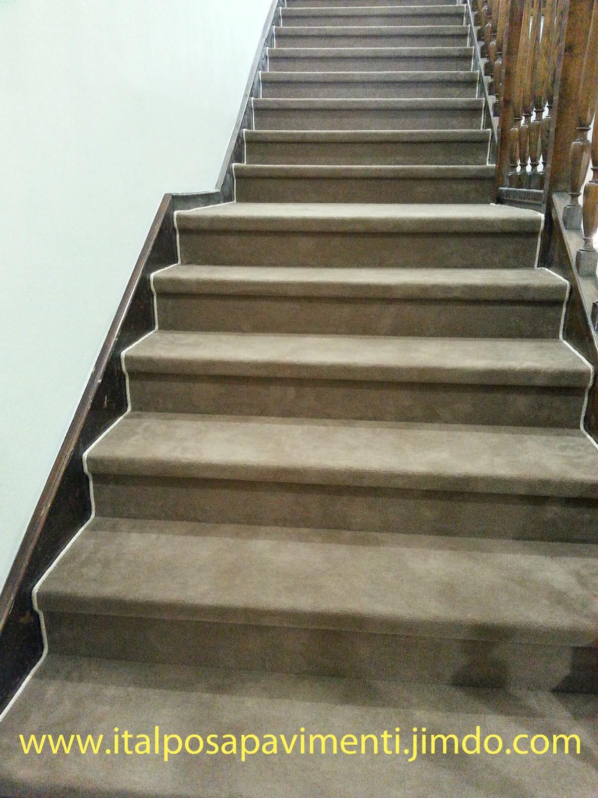 Italposa pavimenti blog rivestimento scale in moquette for Moquette per scale interne