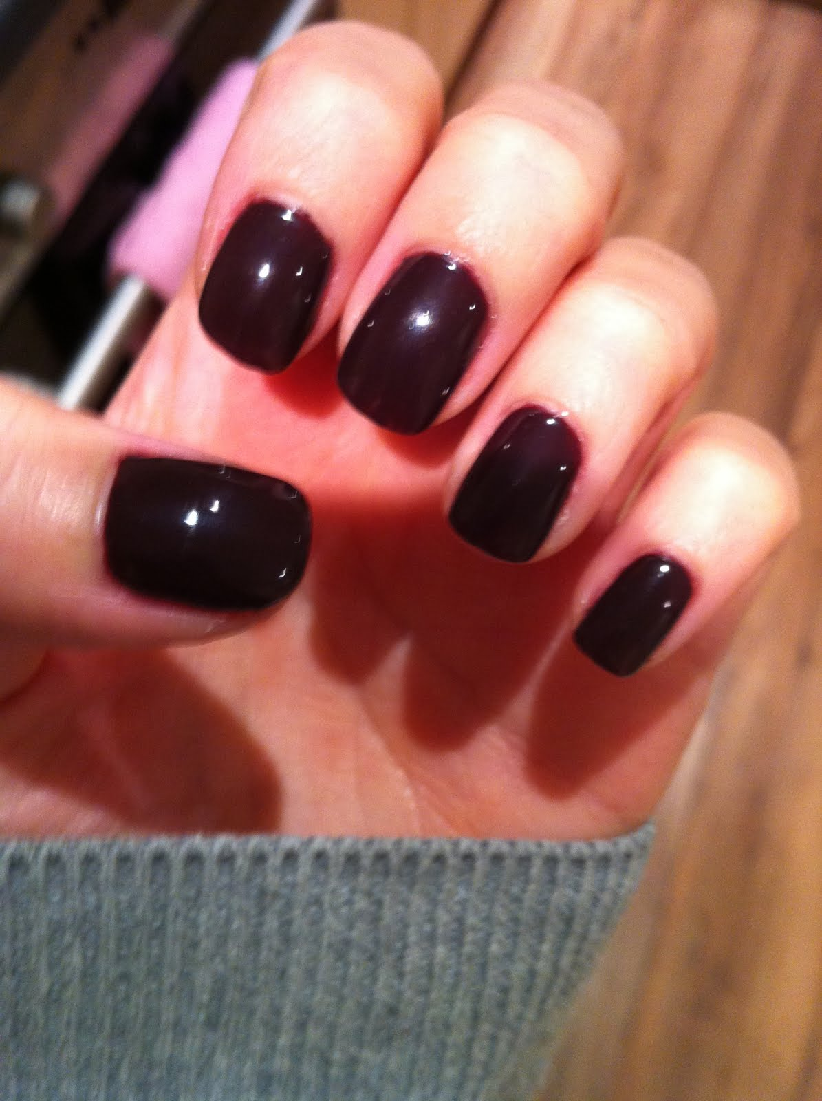 lettyho: Shellac gel manicure review