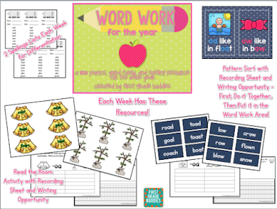 http://www.teacherspayteachers.com/Product/Word-Work-A-BIG-Resource-of-Phonics-Word-Families-and-Spelling-Work-678315
