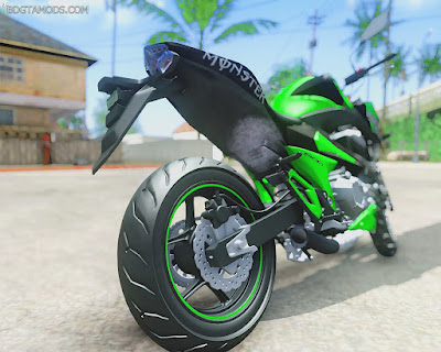GTA SA - Kawasaki Z800 Monster Energy