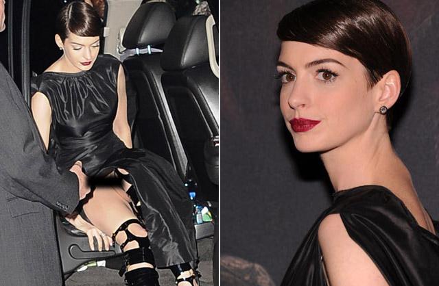 Anne Hathaway Tamb M Foi Flagrada Quando Ela Viu A Foto