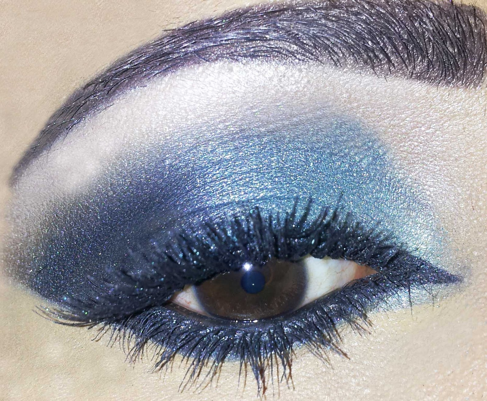 Turquoise Smokey Eye Makeup Make Up By Amna