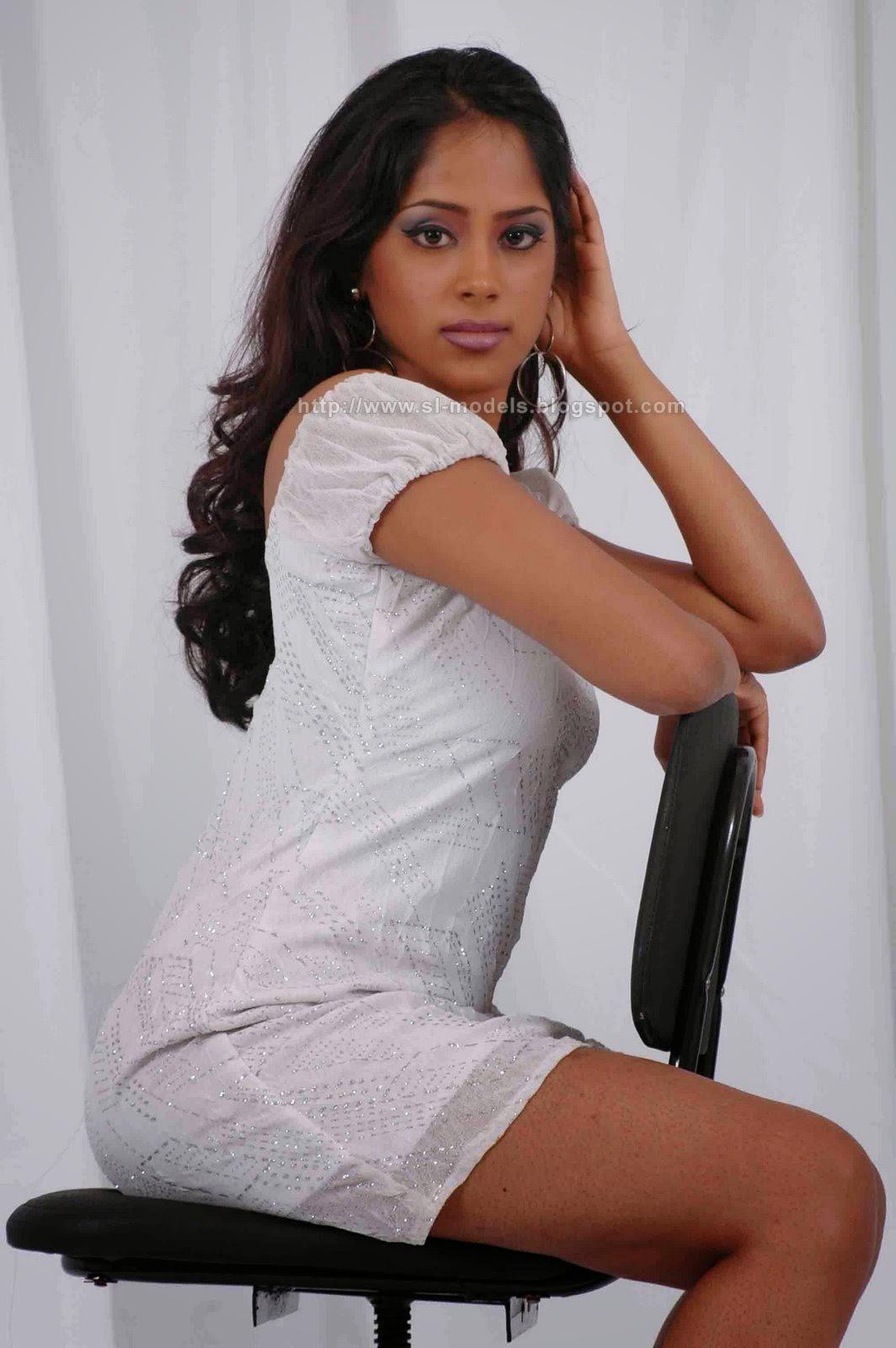Kishani Alanki sexy in white