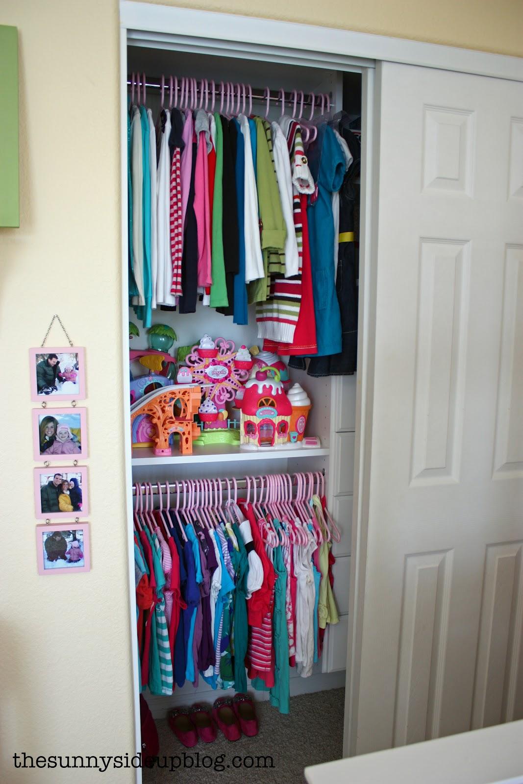 Organized Kidsu0027 Closet/drawers