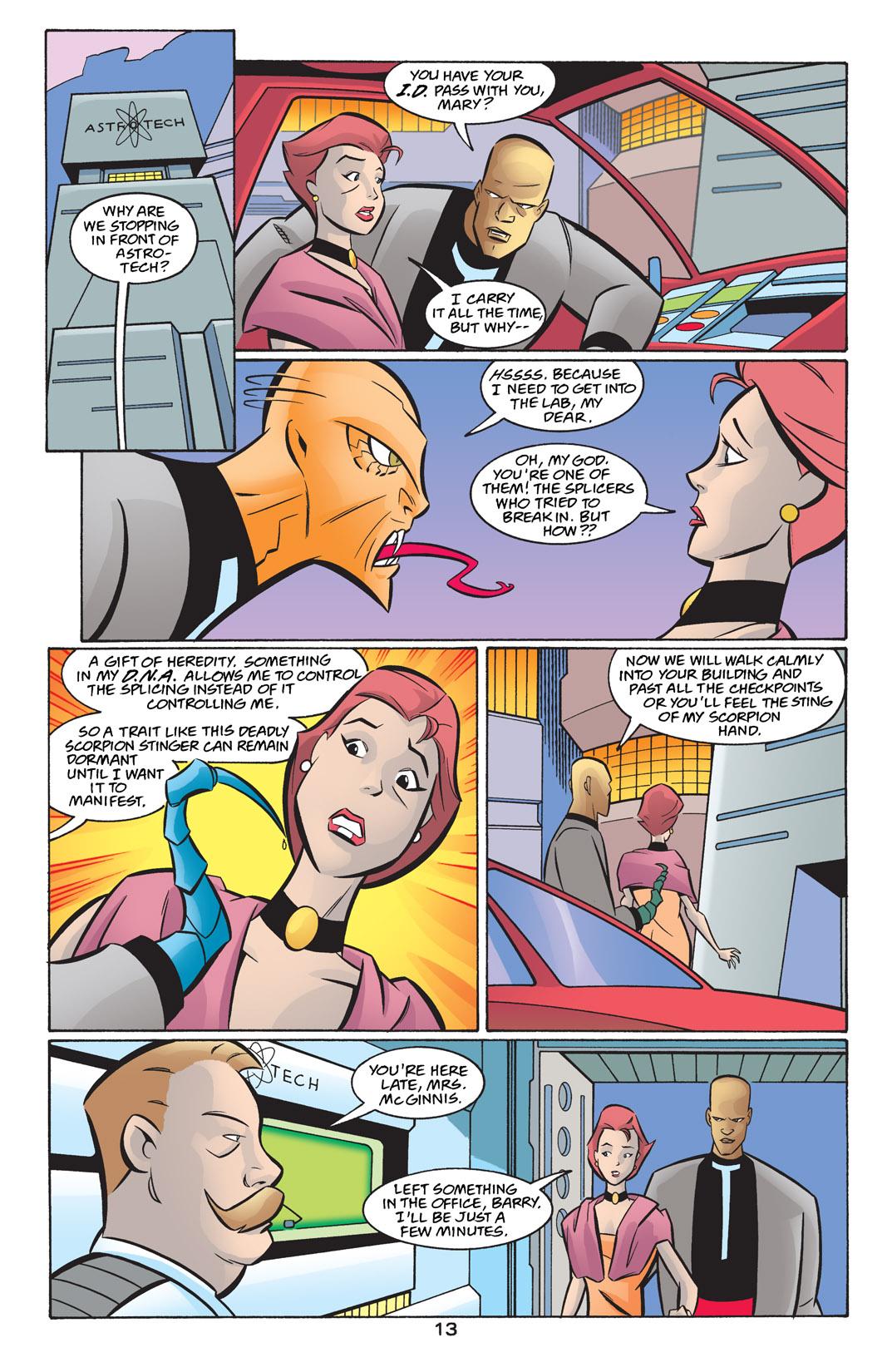 Batman Beyond [II] Issue #24 #24 - English 14