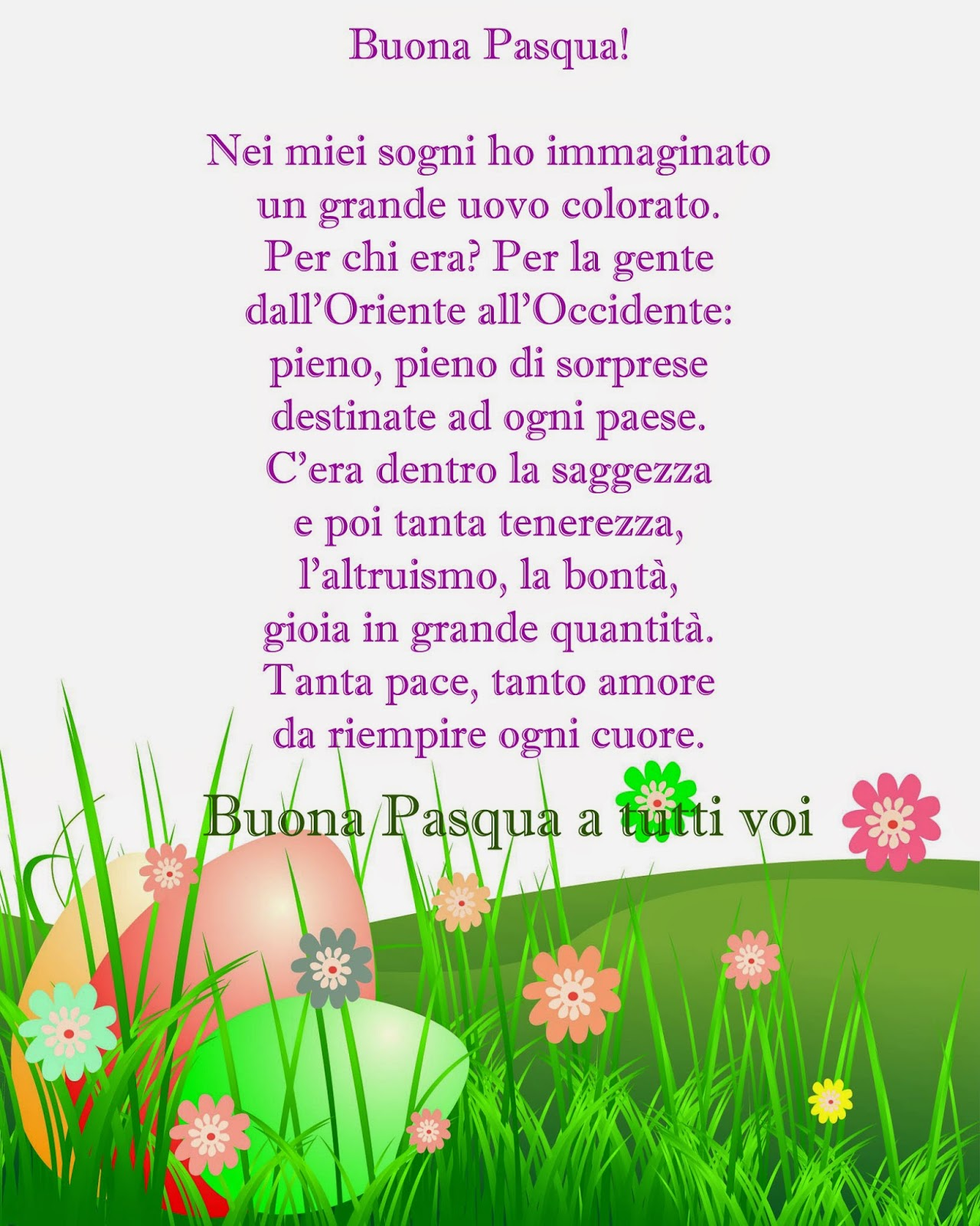 Top Photo Collection Buona Pasqua Poesie Foto BS33