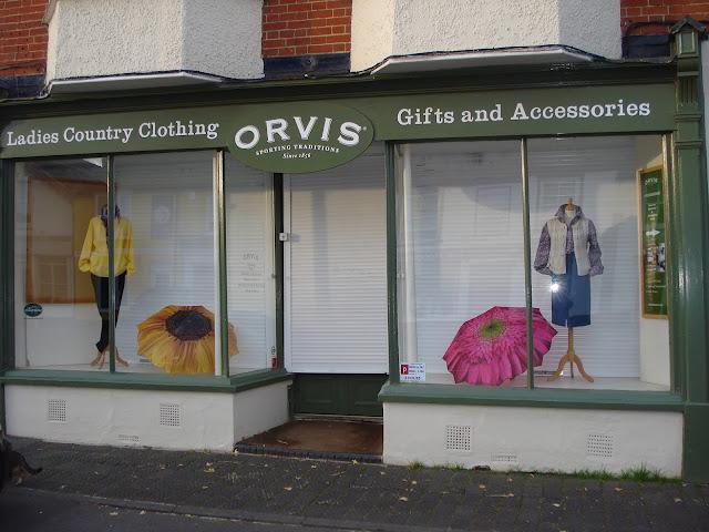 Orvis country clothing, Stockbridge High Street