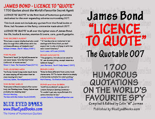 James Bond Quotes Book - Licence to Quote - The Quotable 007