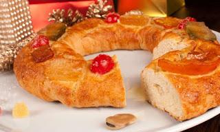 Roscón De Reyes Sin Huevo Ni Leche
