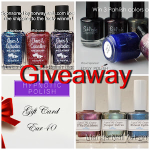 Giveaway Nov. 3rd to 24th