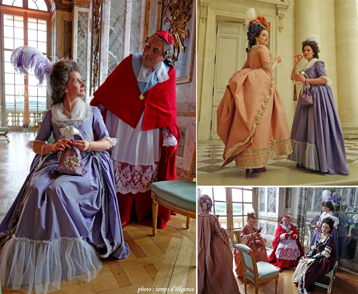 De notre côté nous avons opté pour des costumes vers 1780. We chose 1780\u0027s  costumes.