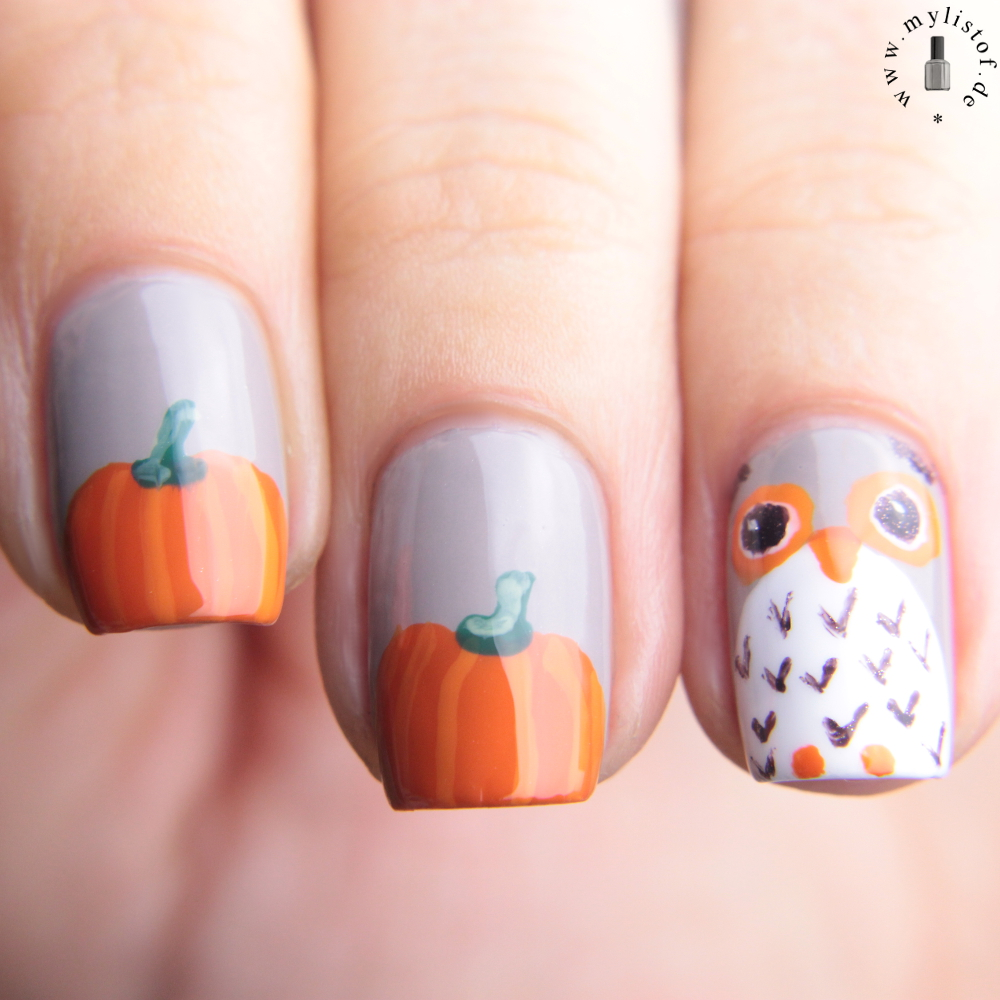 My List Of ....: [ Nagel(lack) - ABC ] Essie Pumpkin-Owl for Fall