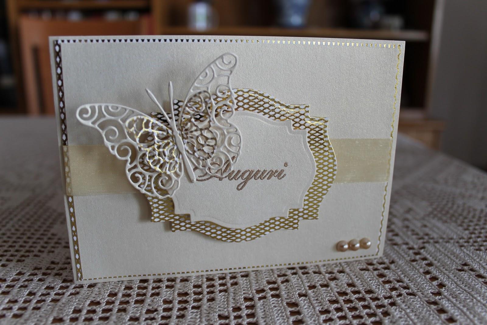 Golden wedding anniversary fiori