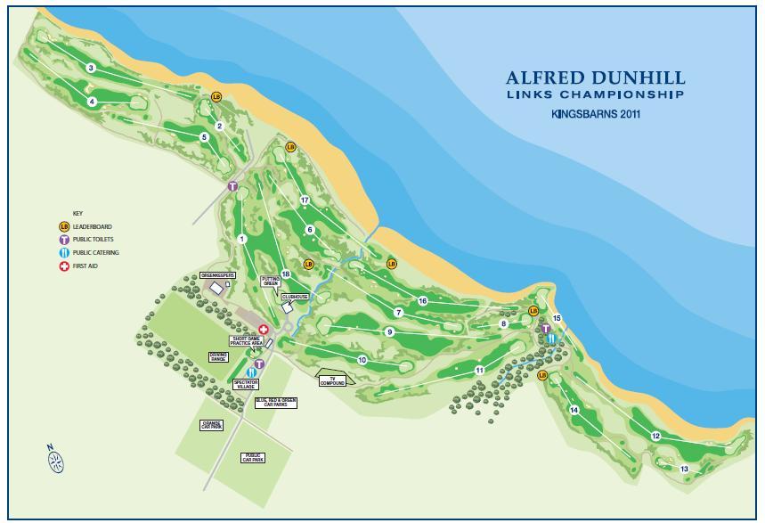 The Holy Grail Golfer 54 Kingsbarns Golf Links