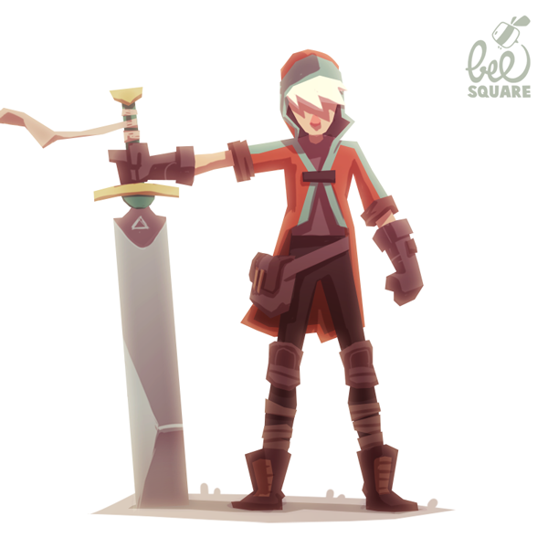 Design A Cartoon Character Game : Zinkase pablo hernández character design for a videogame