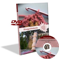 Horgolóiskola DVD