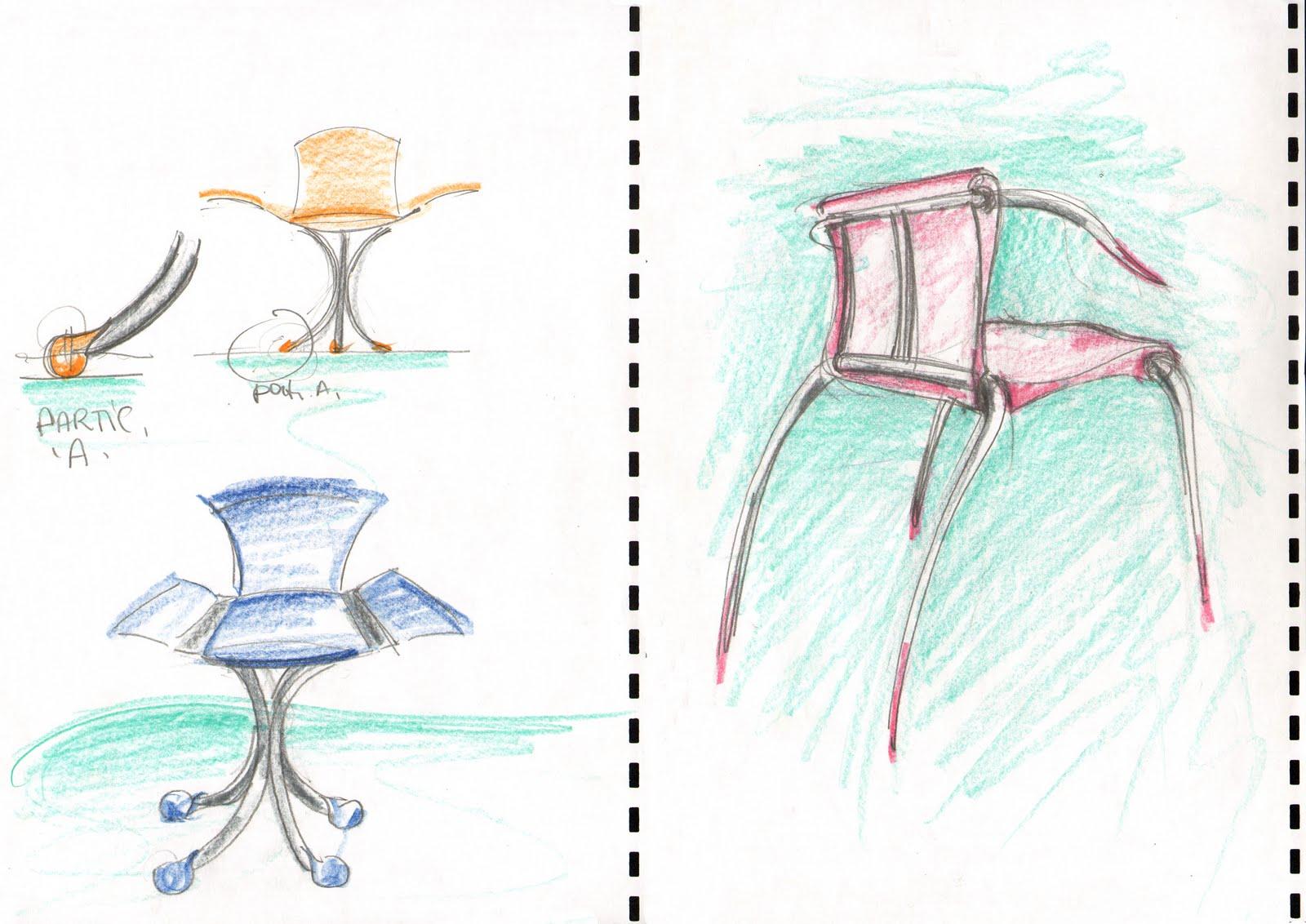 Vent 39 anni di disegni dell 39 arch antonio saporito disegni - Sedia a dondolo disegno ...